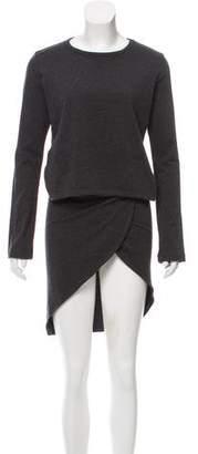 Y-3 Long Sleeve Wrap Dress