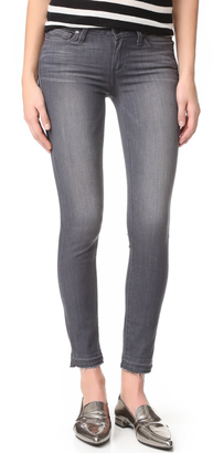PAIGE Verdugo Ankle Jeans with Undone Hem $199 thestylecure.com