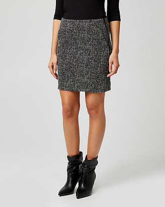 Le Château Tweed Mini Skirt