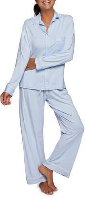 Pour Les Femmes Bamboo-Knit Pajama Set