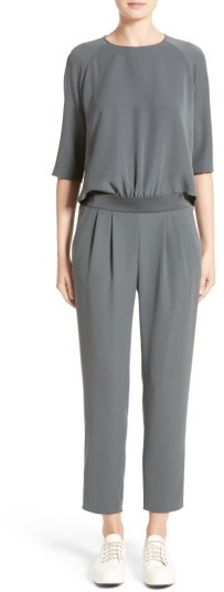 Women's Armani Collezioni Two-Piece Tech Cady Jumpsuit