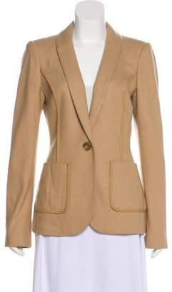 Rachel Zoe Long Sleeve Wool Jacket