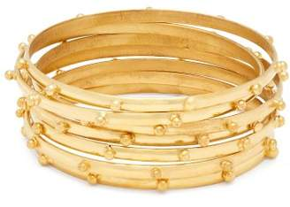 Sylvia Toledano - Gold Plated Multi Bangle Set - Womens - Gold