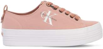Calvin Klein Jeans 40mm Zolah Canvas Platform Sneakers