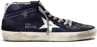 Golden Goose Mid Star mid-top suede trainers