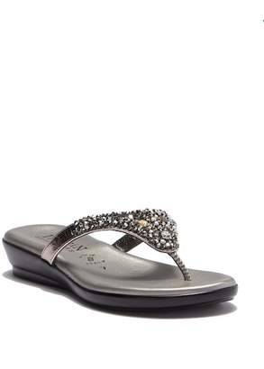 Italian Shoemakers Jazmin Embellished Sandal