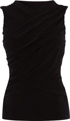 Karen Millen Draped Wrap Top
