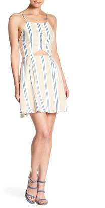 J.o.a. Spaghetti Strap Stripe Dress