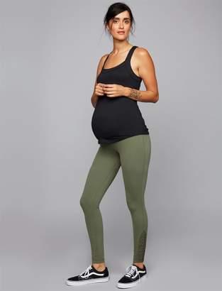 Ingrid & Isabel Macrame Detail Maternity Leggings