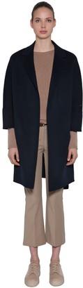 Max Mara 's Double Wool Wrap Coat