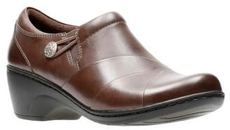Clarks Channing Ann Leather Loafer - Wide Width Available