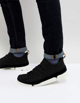 Clarks Trigenic Flex Sneakers In Black
