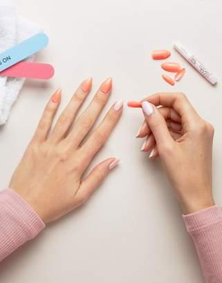 Elegant Touch Polishes False Nails - Stiletto Peach