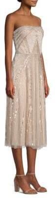 Parker Black Lola Embellished Midi Dress