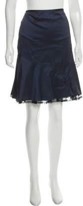 Tahari A-Line Pleated Skirt