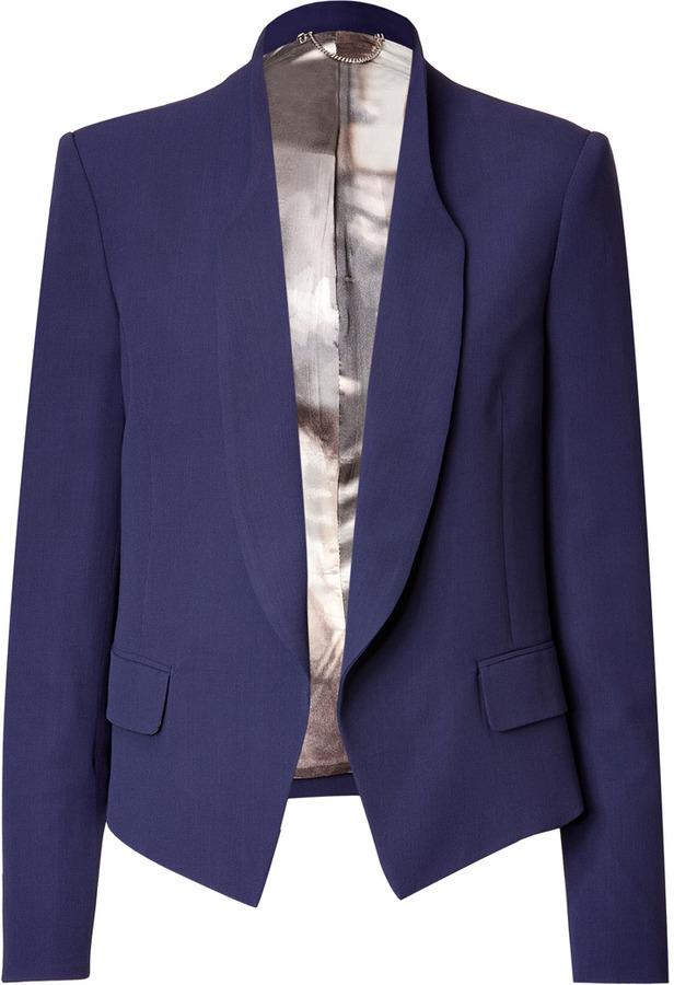 Paul Smith Wool Blend Shawl Collar Blazer