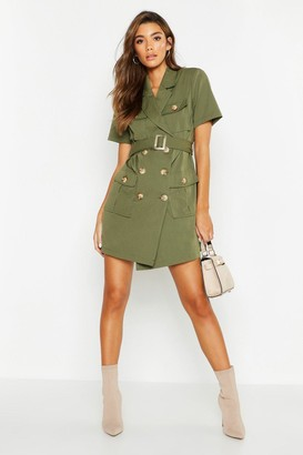 boohoo Suedette Mini Lock Grab Bag
