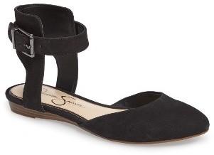 Women's Jessica Simpson Loranda Ankle Strap Flat $78.95 thestylecure.com