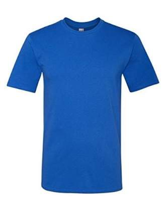 Anvil Adult Midweight Tee (Royal Blue) (3X)