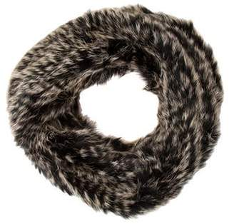 Yves Salomon Fur Snood Scarf