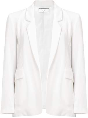 Paisie Open Front Blazer With Flap Pockets