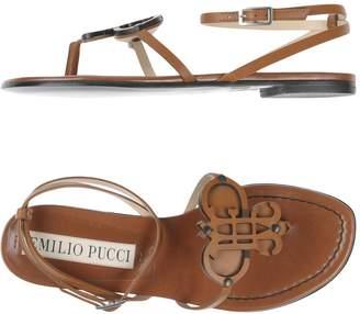 Emilio Pucci Toe strap sandals
