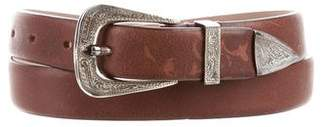 Brunello Cucinelli Narrow Leather Belt