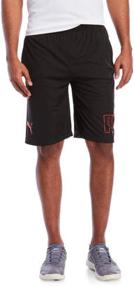 Puma Black Shred Shorts