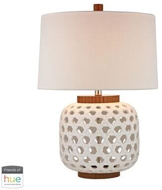"Bayou Breeze Overton Woven Ceramic 26"" Table LampBayou Breeze"