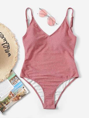 66cdcbef29 Shein Pink One Piece Swimsuits - ShopStyle