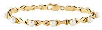 Xo 14K Pearl Link Bracelet