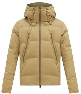Descente Allterrain - Mountaineer Hooded Down Filled Jacket - Mens - Khaki