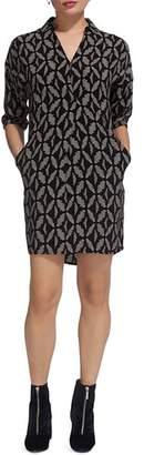 Whistles Lola Geo-Print Dress