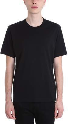Ermenegildo Zegna Black Cotton T-shirt