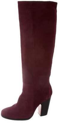 Rachel Comey Round-Toe Suede Boots