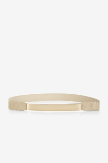 Bcbgeneration Plate-Detail Elastic Waist Belt
