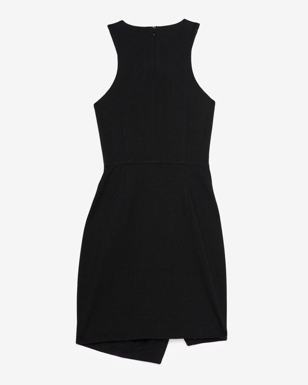 Nicholas Exclusive Leather Zipper Detail Dress