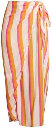 Cool Change Coolchange Nuella Bora Bora Stripe Midi Skirt