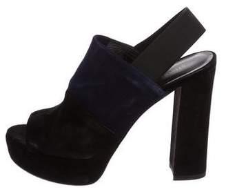 Stuart Weitzman Slingback Platform Sandals