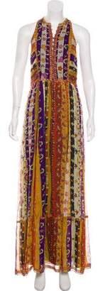 Diane von Furstenberg Sleeveless Maxi Dress
