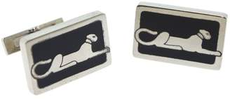 Cartier Sterling Silver Panther Cufflinks