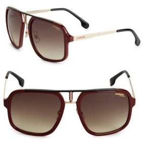 Carrera 58MM Square Sunglasses