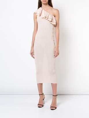 Balmain Asymmertric dress