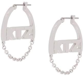 Kokon To Zai small chain earrings