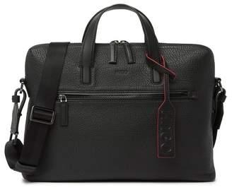645f093964 HUGO BOSS Victorian Leather Messenger Bag