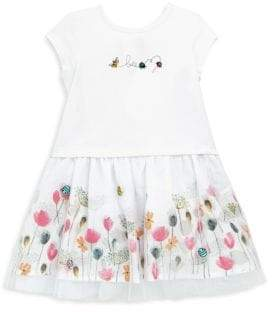 Catimini Baby's Floral Bee Dress