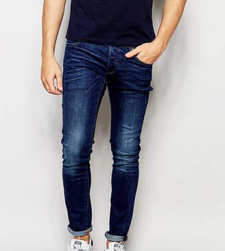 G Star G-Star BeRAW Jeans 3301-A Super Slim Fit Mid Wash