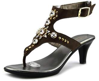 Callisto Women's Cherry Embellished Ankle-Strap Sandals