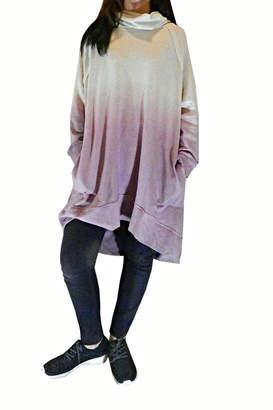 Easel Super Over-Sized Tunic