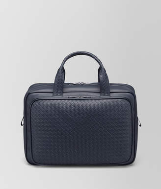 Bottega Veneta TRAVEL BAG IN LIGHT TOURMALINE INTRECCIATO VN